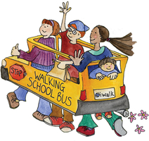 Walking School Bus Begins Monday, September 11th!