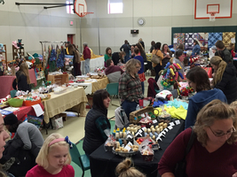 Craft fair at LER happening until 2:00