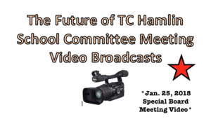 ALL Video: Future of TC Hamlin Committee Meetings