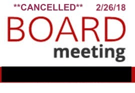 Tonight's Special School Board Meeting - Cancelled