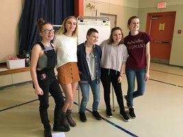 Civile Rights Team Presentation to Riverview Community School Students