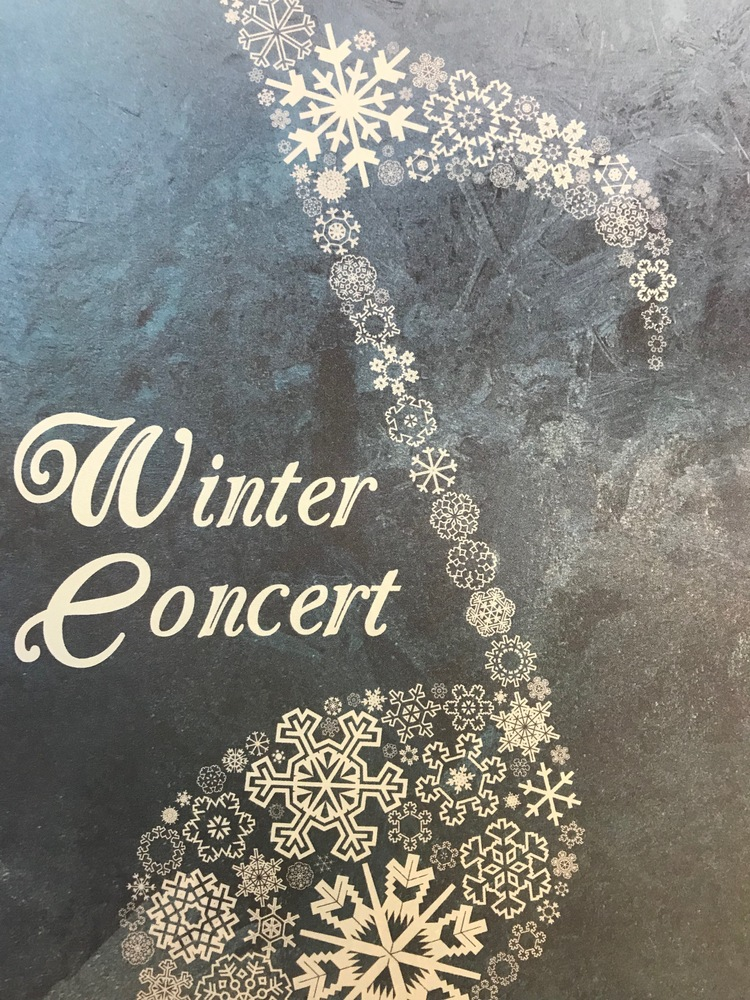 GAHS Winter Concert on December 3rd!
