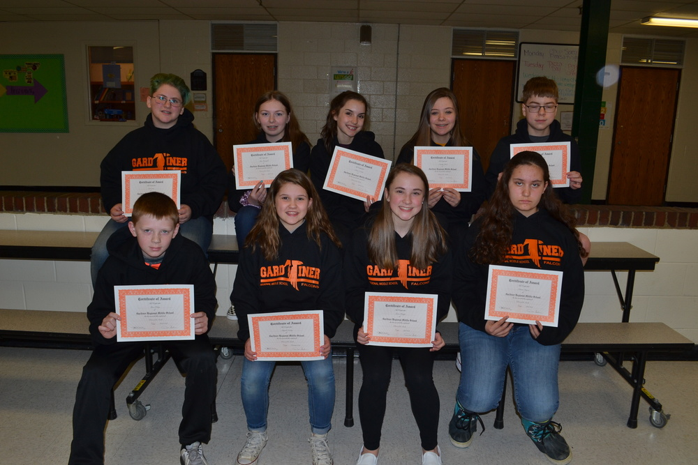 February March April Falcons of the Month