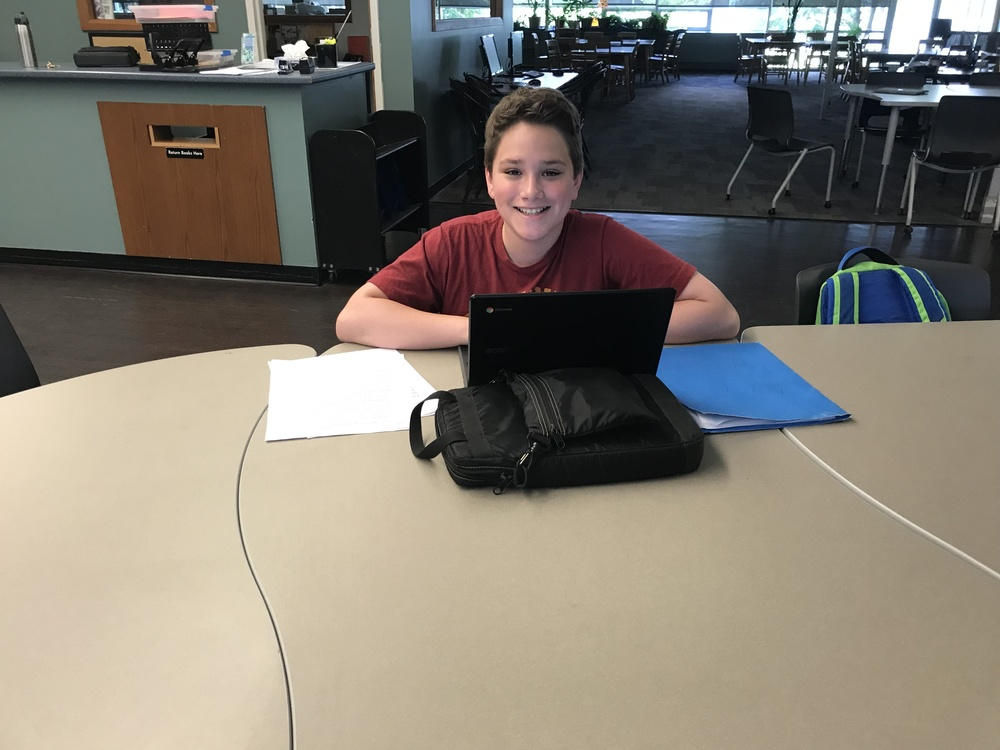 Summer Learning at GAHS Library Commons