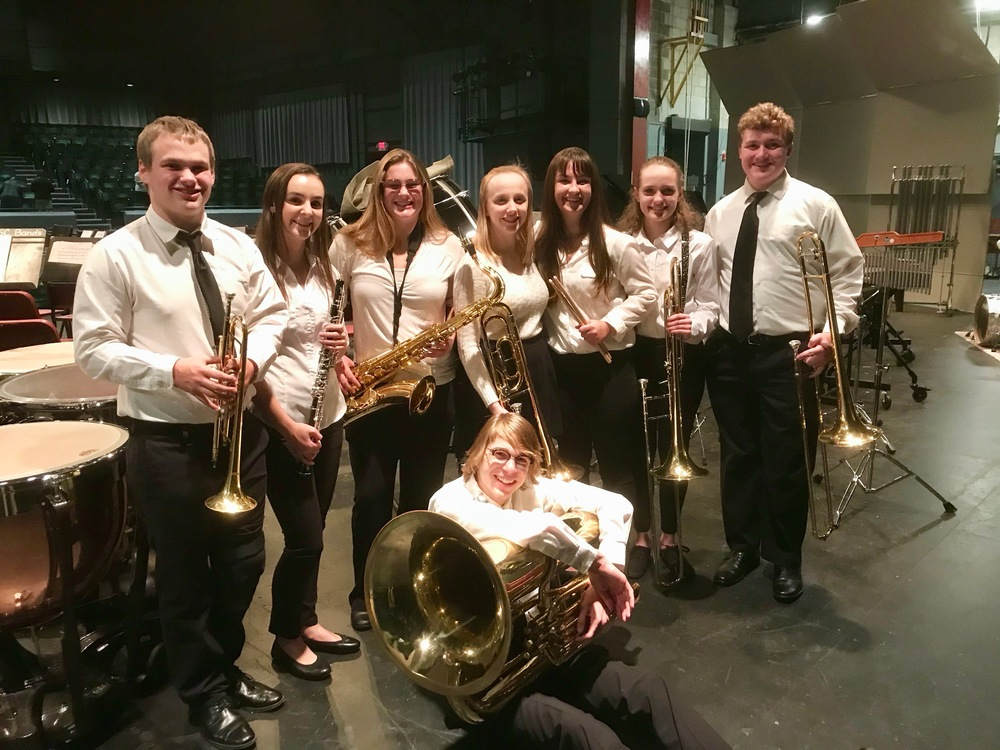 GAHS Band members attend All New England Band Festival!