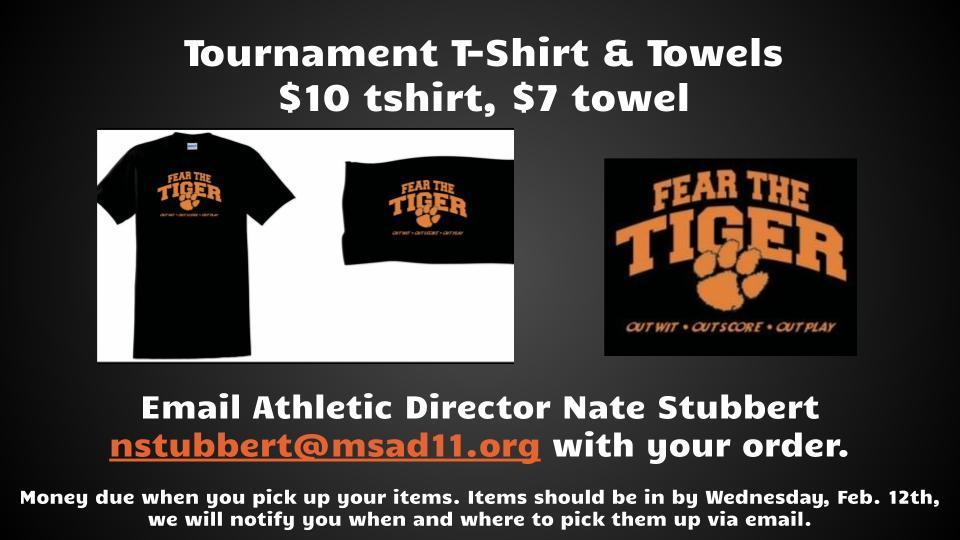 Fear the Tiger tshirt and towel sale
