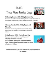 Three Festive Days