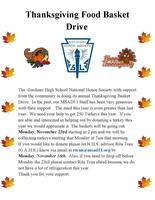 Thanksgiving Food Basket Drive