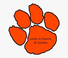 Letter to Parents & Families