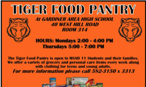 Tiger Food Pantry