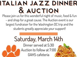 HS Band Italian Jazz Dinner & Auction
