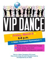 VIP DANCE, March 6th