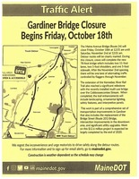 Gardiner Bridge Closure