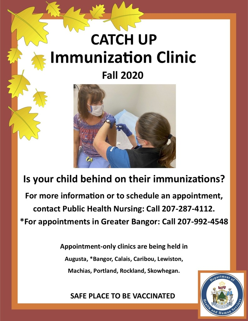 Fall Catch-Up Immunization  Clinic