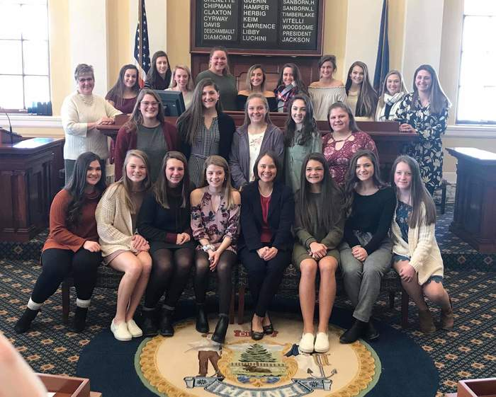 GAHS FIELD HOCKEY TEAM-CLASS B STATE CHAMPS
