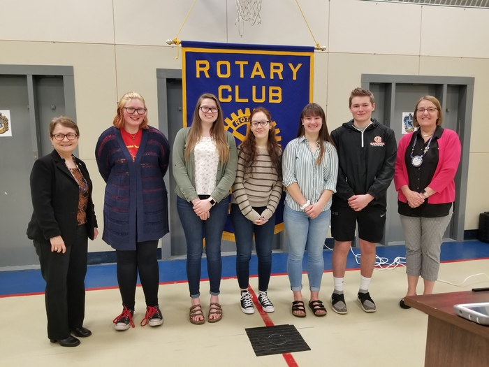 Students of the Month April 2019