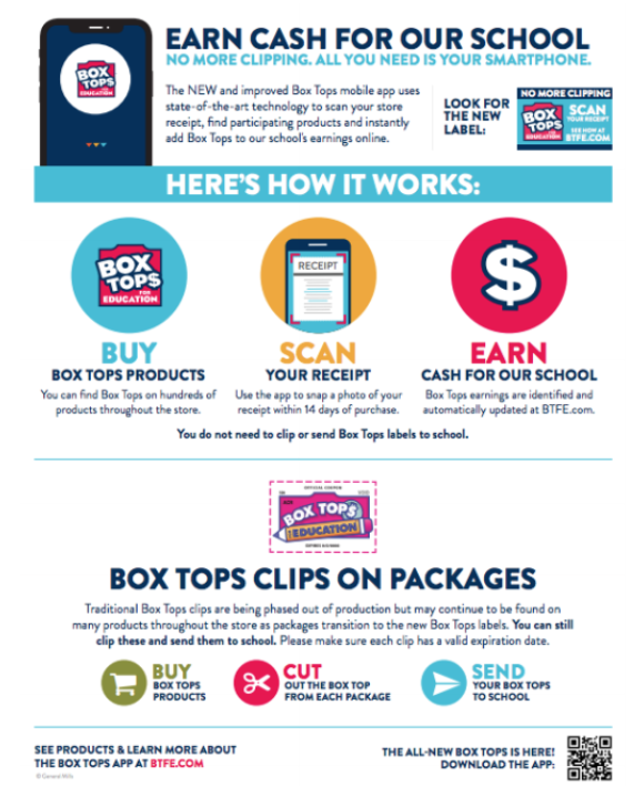 Box Tops Info Sheet