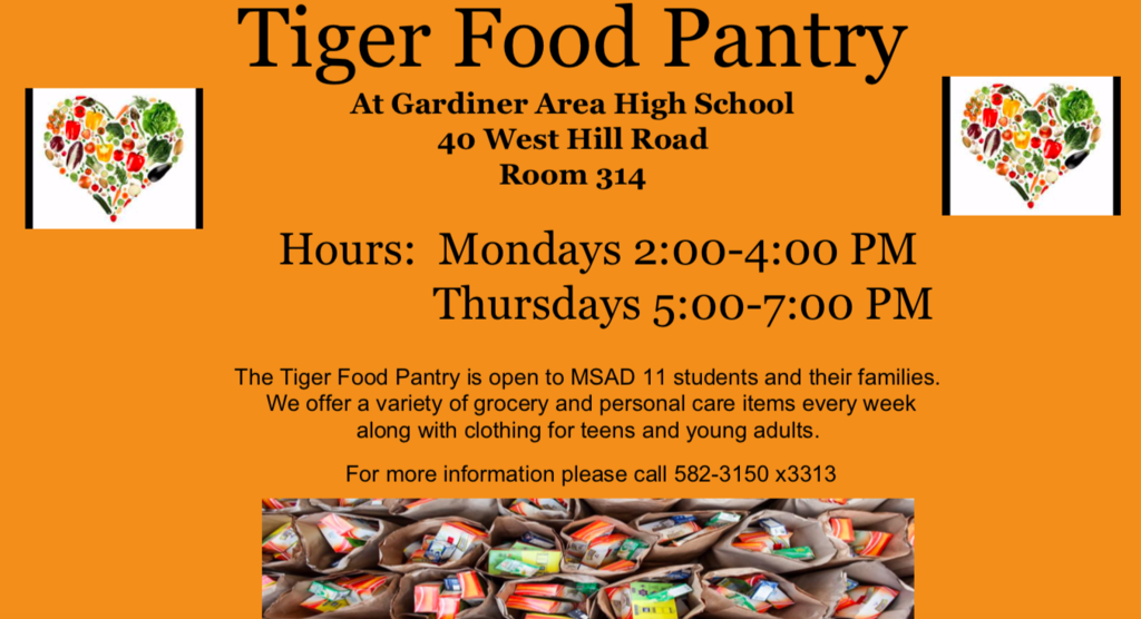 Tiger Pantry flyer
