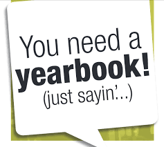 You need a yearbook! (just sayin'...)