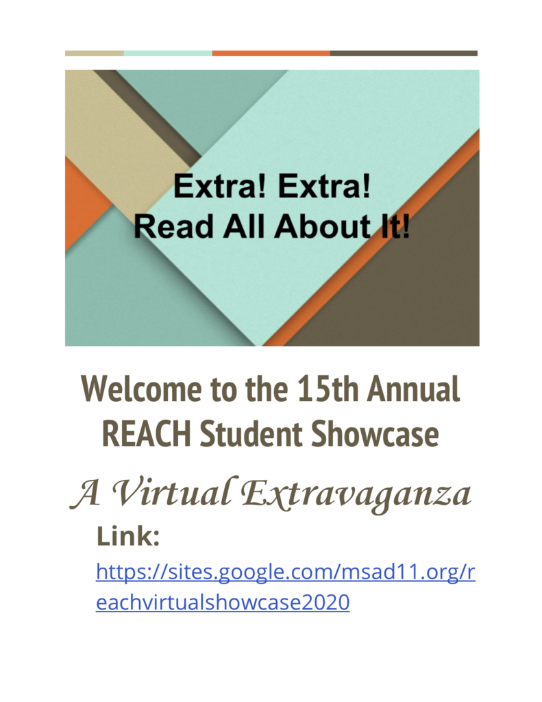 REACH Showcase flyer