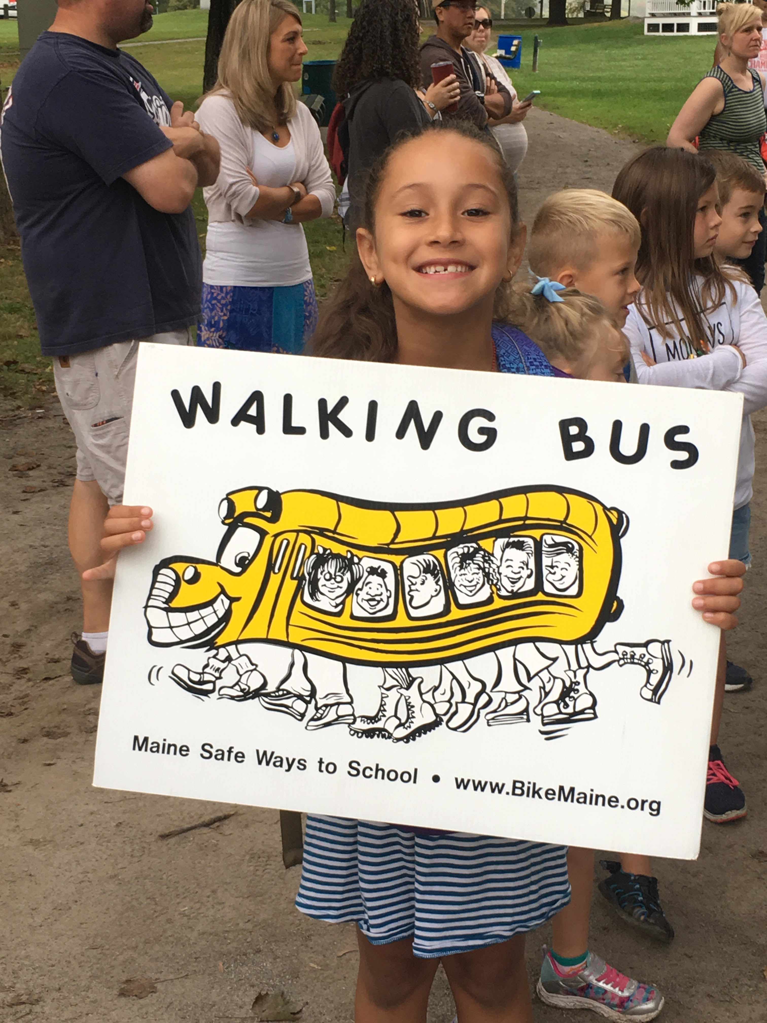Our Walking School Bus continues to be fueled up and running strong on Monday mornings! Come join Mrs. Moody, Mrs. Gruber, Mrs. Murphy, and other staff at 7:55 at the park to walk up to school! Students earn feet charms to collect on a chain each time they walk to school! It is a healthy way to start our week. We will continue until November 5th. Then we resume in the spring!