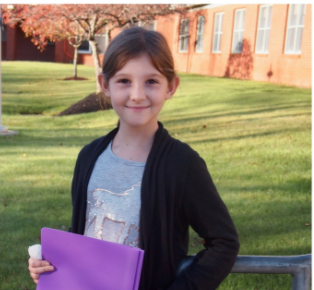 student of the month: Abigail