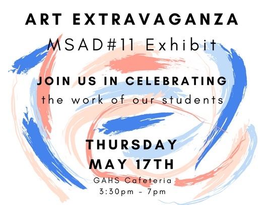Art Extravaganza - May 17th!